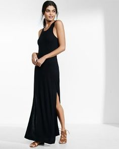 keyhole maxi dress from EXPRESS