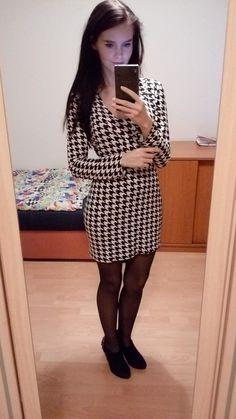 Jsem přesvědčená, že s těmito šaty na přelomu zimy a jara rozhodně nic nezkazíte! Velmi pohodlné dámské šaty s dlouhým ruk...