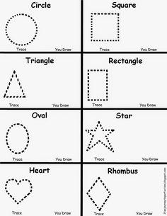 Preschool Shapes Worksheet