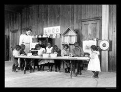 """Kindergarten African American Photo 1899 14""""X11"""""""