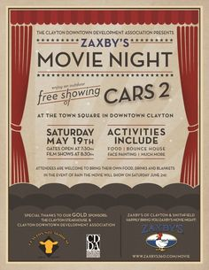 movie night poster - Google Search