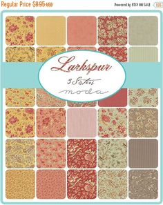 SALE LARKSPUR Charm Pack  3 Sisters for Moda  5 Inch by Jambearies