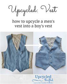 Upcycled: Vest