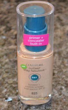 """This is the best drugstore foundation! <3 it. I am in the color """"golden tan"""" for those who are tan."""
