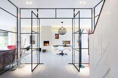 25 Beautiful Glass Door Design Ideas For Your New House 1 - bucurieacasa House Design, Door Design, Steel Doors And Windows, Interior Inspiration, Home, Glass Door, Interior Architecture, Room Interior, Doors Interior