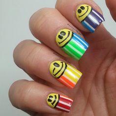 runningwithlacquer #nail #nails #nailart