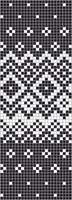 Patterns of jacquard pattern Fair Isle Knitting Patterns, Knitting Charts, Loom Knitting, Knitting Stitches, Knitting Socks, Knitting Designs, Knitting Tutorials, Knitting Machine, Free Knitting