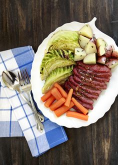 Honey- Marmalade Mustard- Glazed Corned Beef via @Katie Goodman