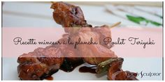Réveillez vos papilles avec cette #recette #minceur au poulet Teriyaki simple et facile à préparer ! ► Découvrez-la en cliquant sur cette image ! ▼