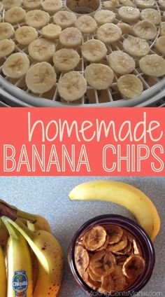 Homemade banana chips are a staple snack in our house, but they can get to be really pricey! Here's how we make our own, from start to finish, with only one ingredient! Homemade Banana Chips, Slow Cooker Recipes, Cooking Recipes, Cooking Tips, Chips Food, Frugal Meals, Frugal Recipes, Family Recipes, Cheap Dinners