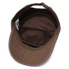 49e6a7b97c5 Vintage Army Plain Flat Cadet Hat Army