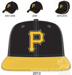 Pittsburgh Pirates 2013 batting practice cap.