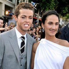 celebrity face swap   ... Celebrity Face Swaps megan-fox-shia-labeouf-face-swap – Teen.com