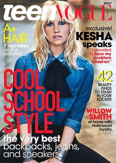 Kesha, post-rehab: 'I decided that maybe I do want to try to be pretty'