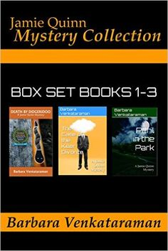 Tome Tender: Jamie Quinn Mystery Collection: Box Set Books 1-3 by Barbara Venkataraman