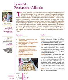 Fettuccine Alfredo alternative! saw rocco make this & it looks amazing. #Recipe