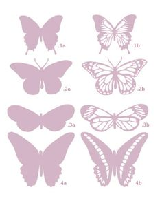 Free Butterfly SVG Files for Cricut - Bing images Butterfly Template, Butterfly Art, Crown Template, Butterfly Mobile, Heart Template, Flower Template, Printable Butterfly, Butterfly Pattern, Vintage Butterfly