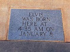 Birthplace of Elvis Presley - Tupelo