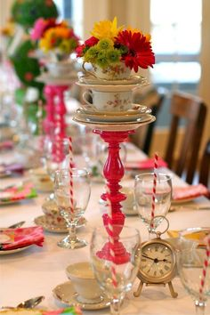Great Ideas For A Little Girls Tea Party Celebrations At Home ...