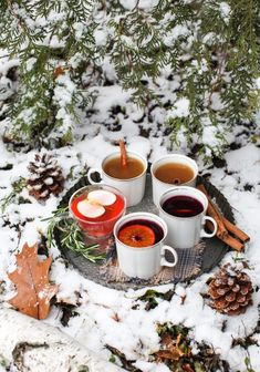 7 festive hot and cold beverages for the holidays - Simple Bites Noel Christmas, Outdoor Christmas, Winter Christmas, Holiday, Xmas, Winter Drinks, Cold Drinks, Beverages, Alcoholic Drinks