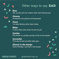 Forum         Le...Sadness Synonym