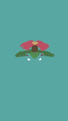 ↑↑TAP AND GET THE FREE APP! Art Creative Cartoon Pokemon Minamalistic Green HD iPhone Wallpaper