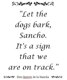 man of la mancha // Great quote!