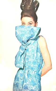 Audrey Hepburn wearing Givenchy, photographed by Bert Stern, 1963
