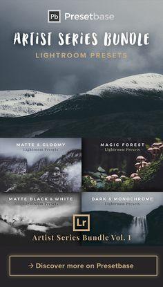 Artist Series Bundle Vol. 1 – 39 Lightroom Presets for Landscape, Nature and Travel Photography by Presetbase.