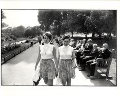 Garry Winogrand, Two Women Walking in Park