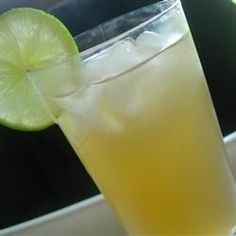 Limeade concentrate, beer, and vodka make an crowd-pleasing and refreshing beverage for those hot summer days.