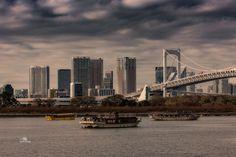 Overlooking the Tokyo city Tokyo City, Sail Away, San Francisco Skyline, Sailing, Let It Be, Holiday, Boats, Travel, Vacations