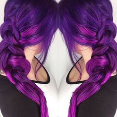 arcticfoxhaircolor Because Purple Rain