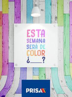 Ni se siente que es lunes ;)  ¿De qué color te pinta esta semana?