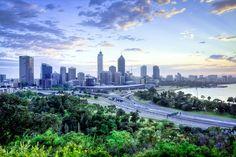 Perth Australia, skyline