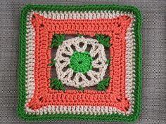 "Ravelry: Project Gallery for Annabelle Iris Afghan Block 9"" pattern by Margaret MacInnis"