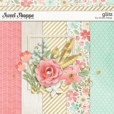 Quality DigiScrap Freebies: Glitz mini kit from Studio Flergs