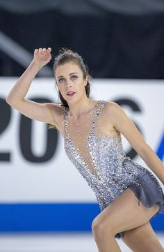Ashley Wagner Photos Photos - Ashley Wagner of USA competes in the ladies free skate at 2016 Progressive Skate America at Sears Centre Arena on October 22, 2016 in Chicago, Illinois. - 2016 Skate America - Day 2