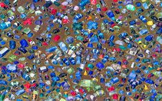 An aerial view of a campsite at the Isle of Wight festival 2012 - Looks Like Fun!!!