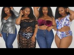 PLUS SIZE SUMMER TRY ON HAUL (FIRST TIME IN A BATHING SUIT) - YouTube eaaa29fcc
