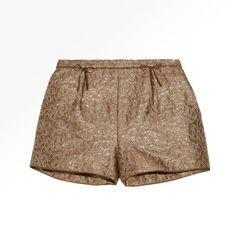 RED Valentino Brocade Shorts
