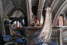 HR Giger Bar, #Gruyere #Svizzera #Alien