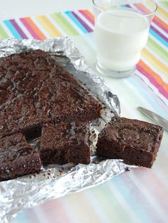 Brownies de ovomaltine