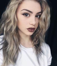 Her makeup