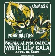 How about a White Lily Gala masquerade? Sigma Alpha Omega