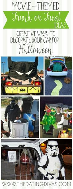 16 Ways to Decorate Your Car For Trunk or Treat Pinterest - trunk halloween decorating ideas