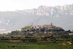 Laguardia (alava), euskadi. 15 km van logrono vandaan
