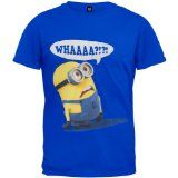 Despicable Me Whaaaa? Mens Royal Blue T-shirt M Despicable Me Whaaaa? Mens Royal Blue T-shirt M Royal Blue T Shirt, Minions Despicable Me, Thing 1, Style Inspiration, Mens Tops, Shirts, Clothes, Amazon, Polo