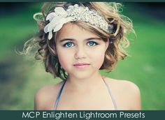 THE BEST LR4 Presets on the market!  Enlighten Me: Three Looks One Image With Lightroom 4 Presets  #mcpactions