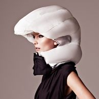 Air bag for cyclists. Made in Sweden. Looking forward to seeing these in the U.S. hopefully soon.
